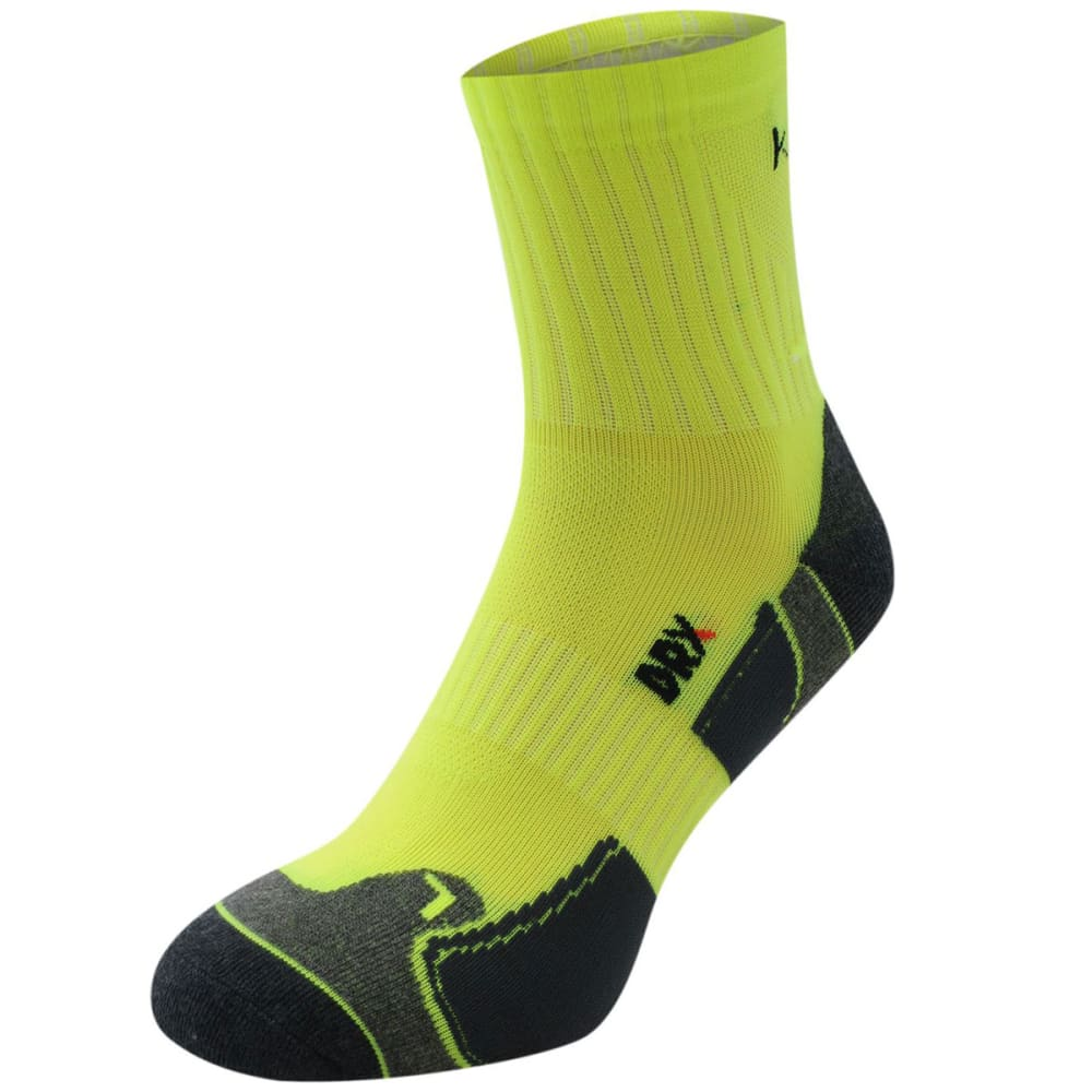 KARRIMOR Men's Dri Skin Running Socks, 2 Pack - FLORESSENT YELLOW