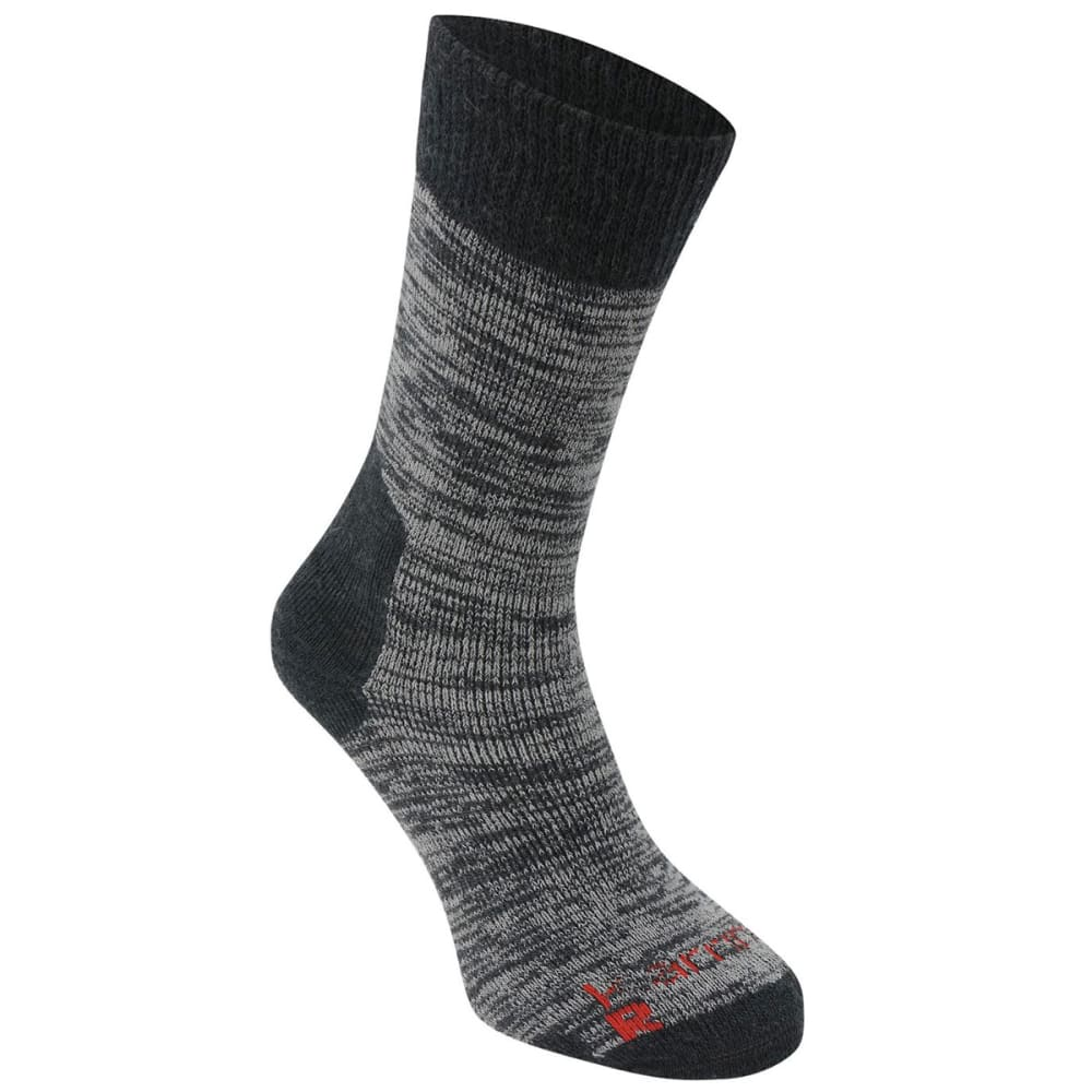 KARRIMOR Men's Merino Fiber Heavyweight Hiking Socks - CHARCOAL
