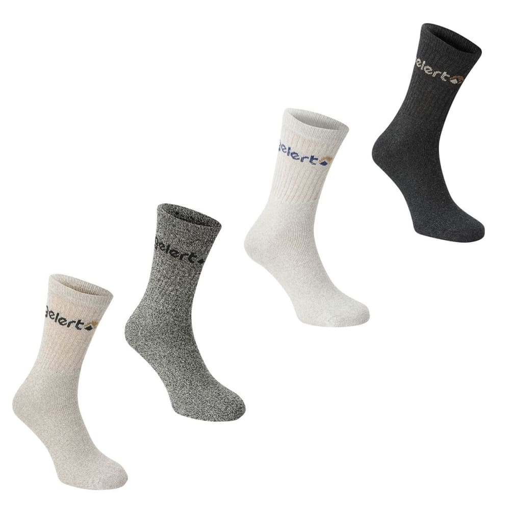 GELERT Kids' Hiking Boot Socks, 4 Pack 2Y-7Y