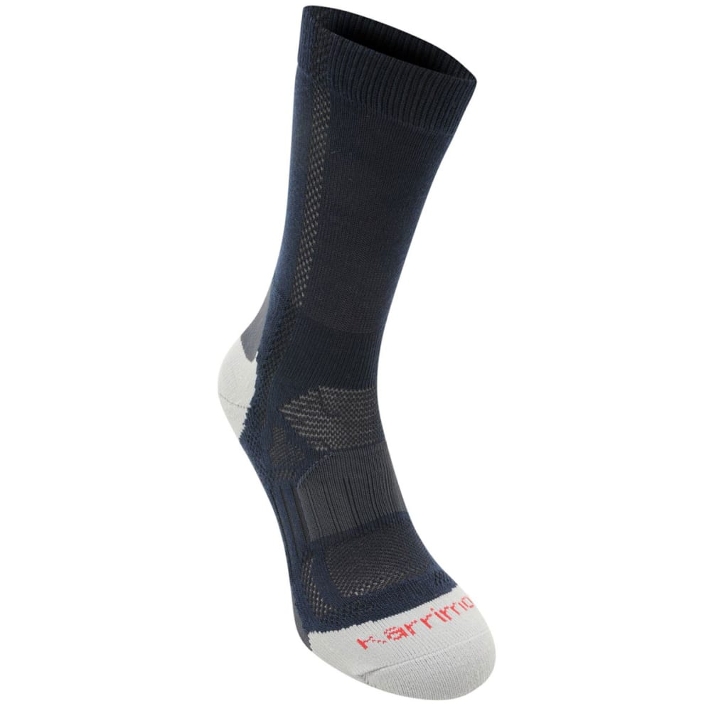KARRIMOR Kids' Hiking Socks, 2 Pack - NAVY