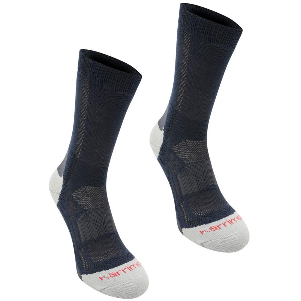 Karrimor Kids' Hiking Socks, 2 Pack - Blue, 2Y-7Y