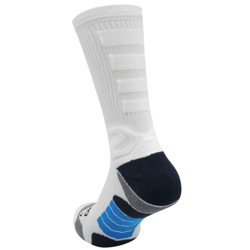 SONDICO Kids' Elite Crew Running Socks - WHITE