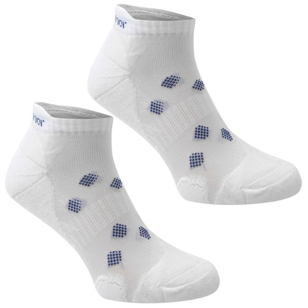 Karrimor Women's Running Socks, 2 Pack - White, 6-10