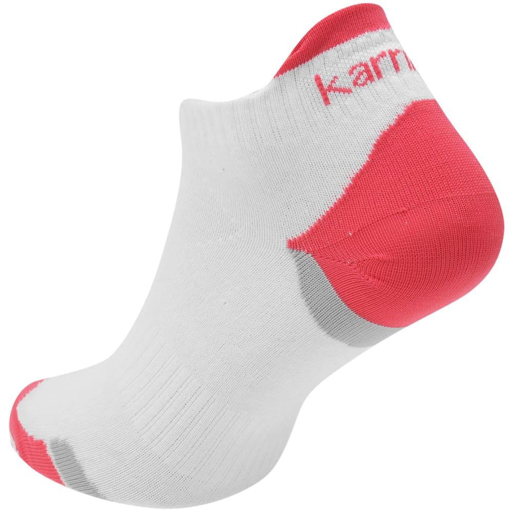 KARRIMOR Women's Duo Socklets - WHITE