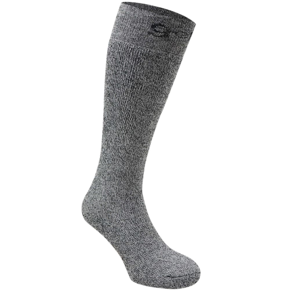 GELERT Men's Boot Socks - BLACK