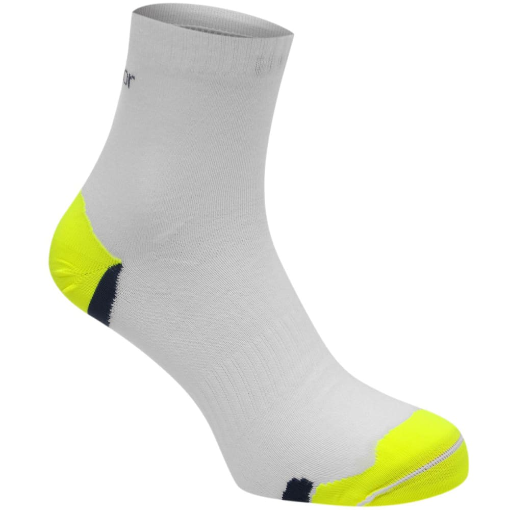 KARRIMOR Men's Duo Running Socks - WHITE/FLUO