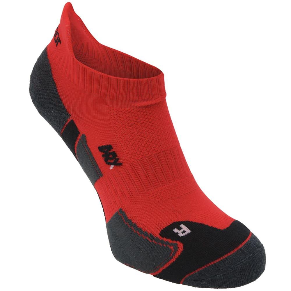 KARRIMOR Men's Running Socks, 2 Pack - RED/BLACK