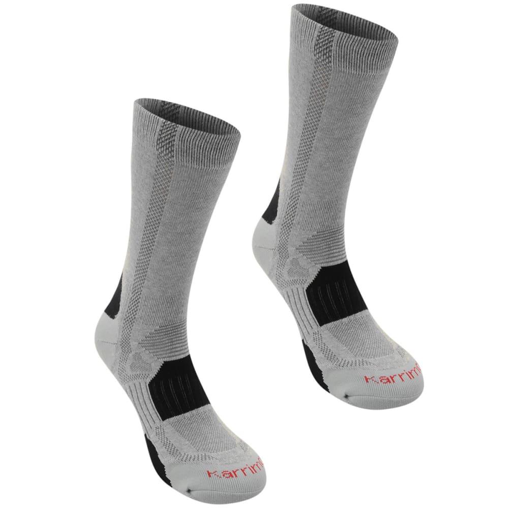 KARRIMOR Men's Hiking Socks, 2 Pack - GREY