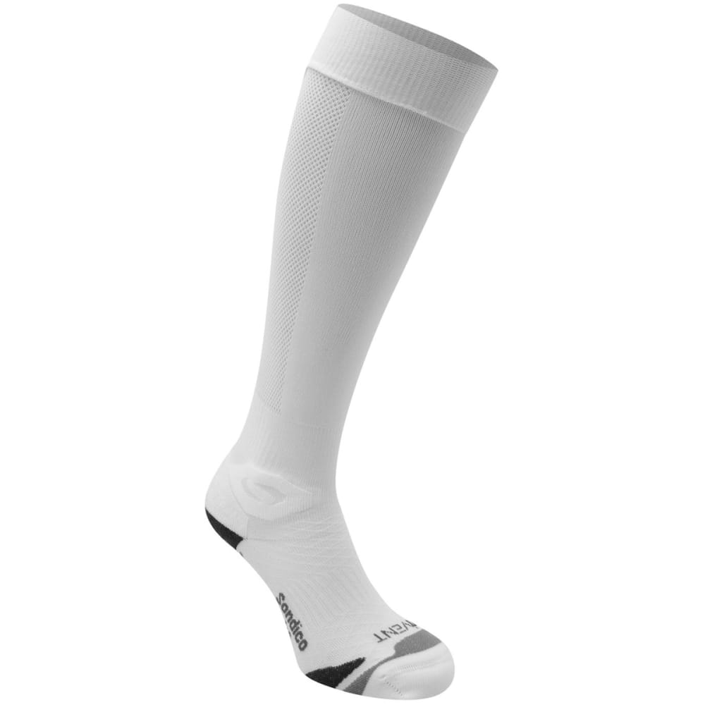 SONDICO Men's Elite Soccer Socks - WHITE
