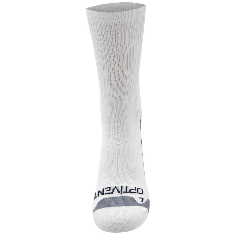 SONDICO Men's Elite Crew Running Socks - WHITE