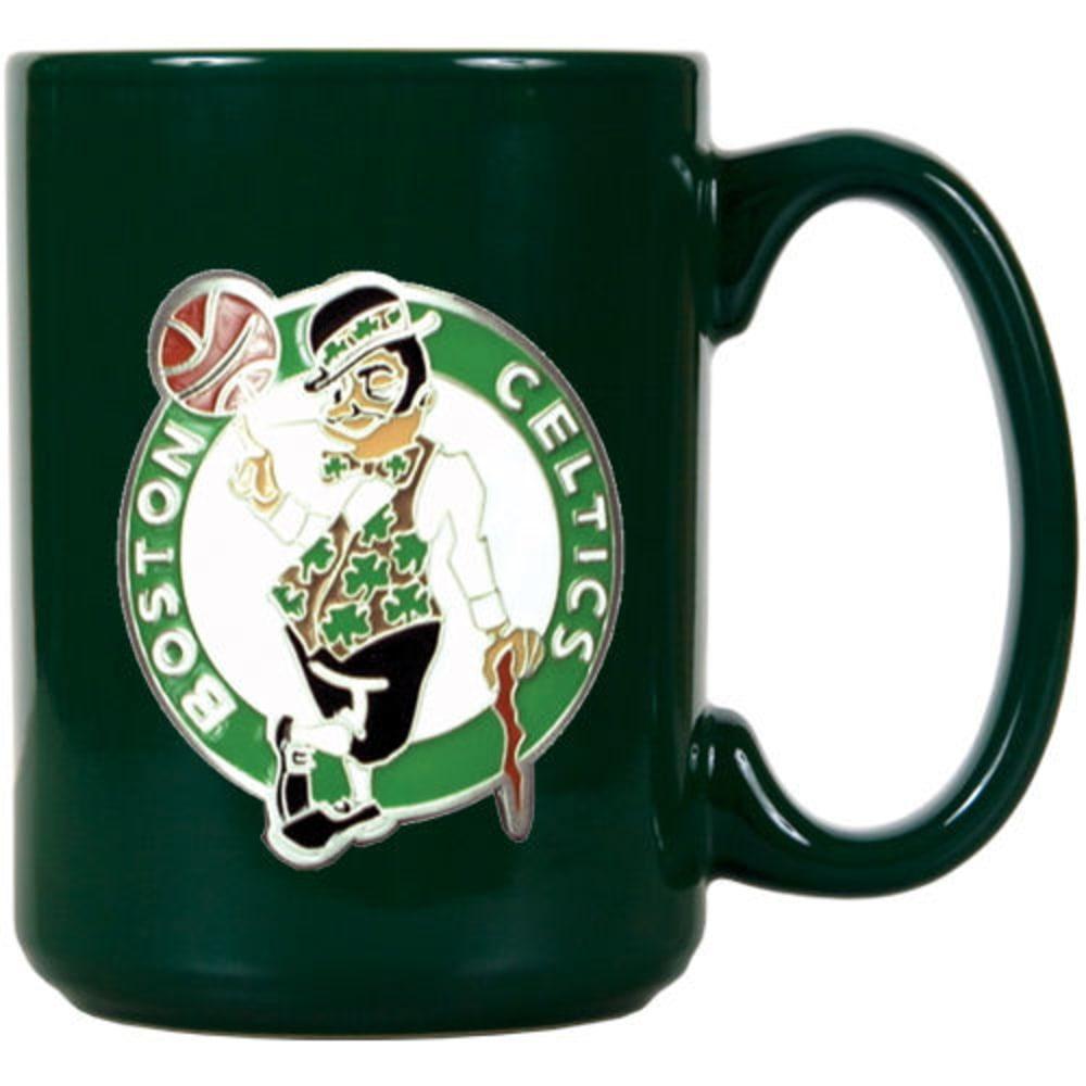 BOSTON CELTICS 3D Metal Emblem Mug - GREEN