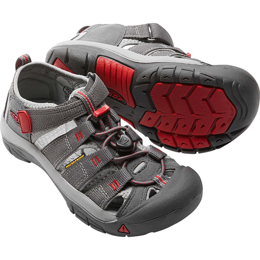 Keen Boys' Newport H2 Sandal - Black, 2