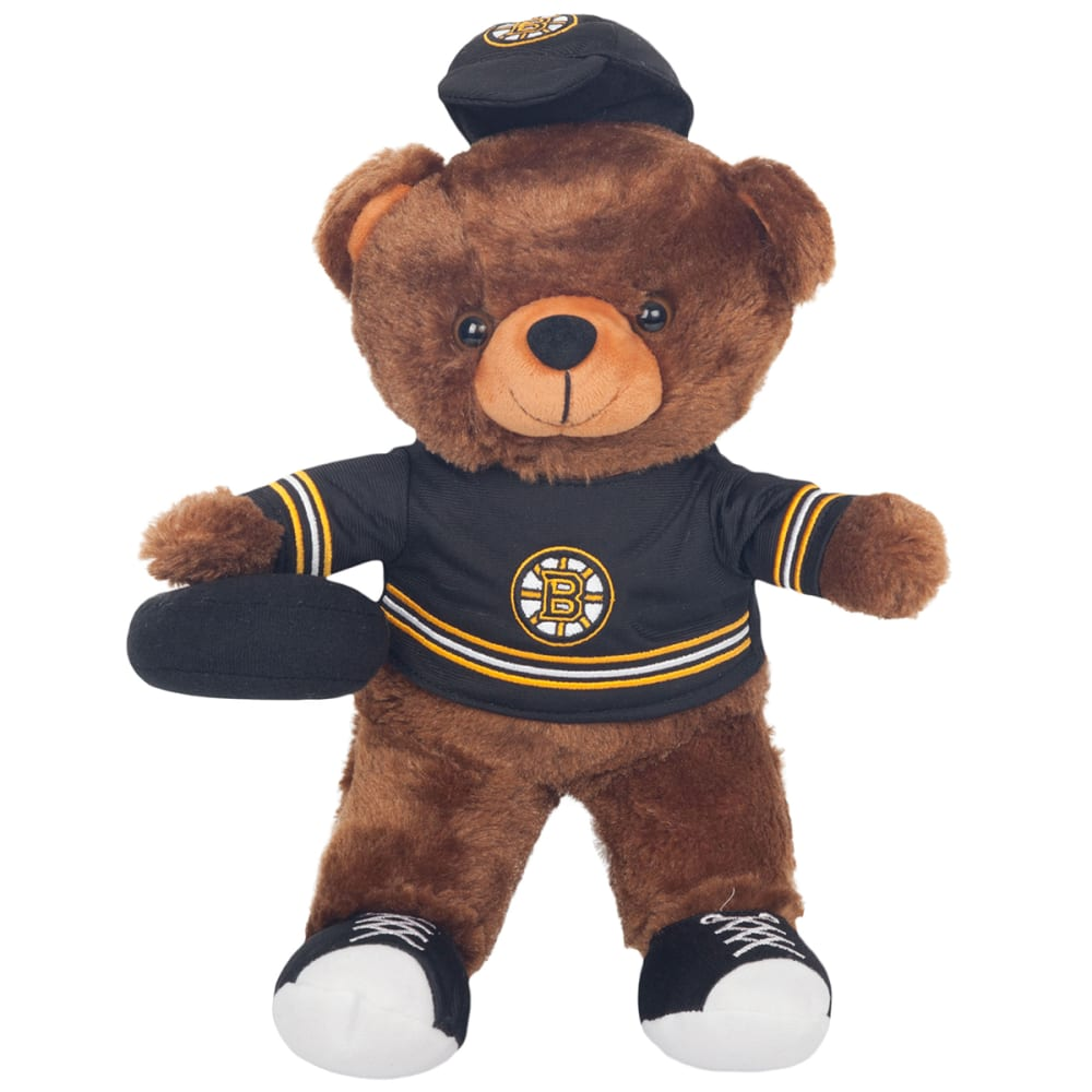 BOSTON BRUINS Locker Room Buddy Bear - BLACK