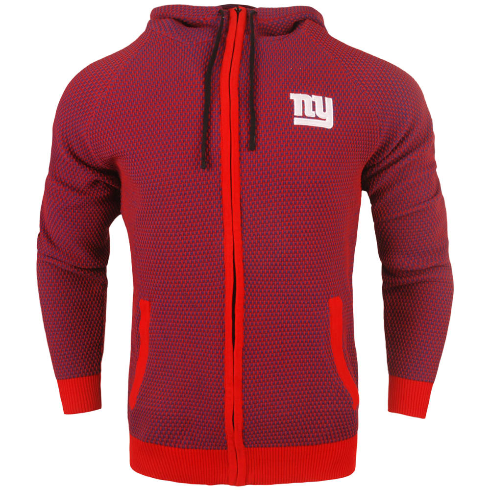 New York Giants Men's Poly Knit Team Color Hoodie - Blue, M