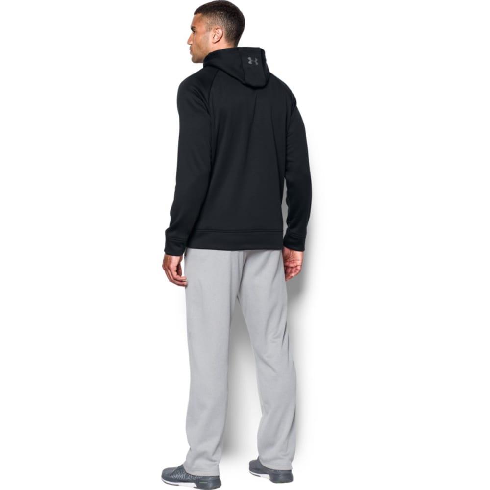 UNDER ARMOUR Men's UA Storm Armour® Fleece Graphic Pullover Hoodie - BLACK/GRAPHITE-001