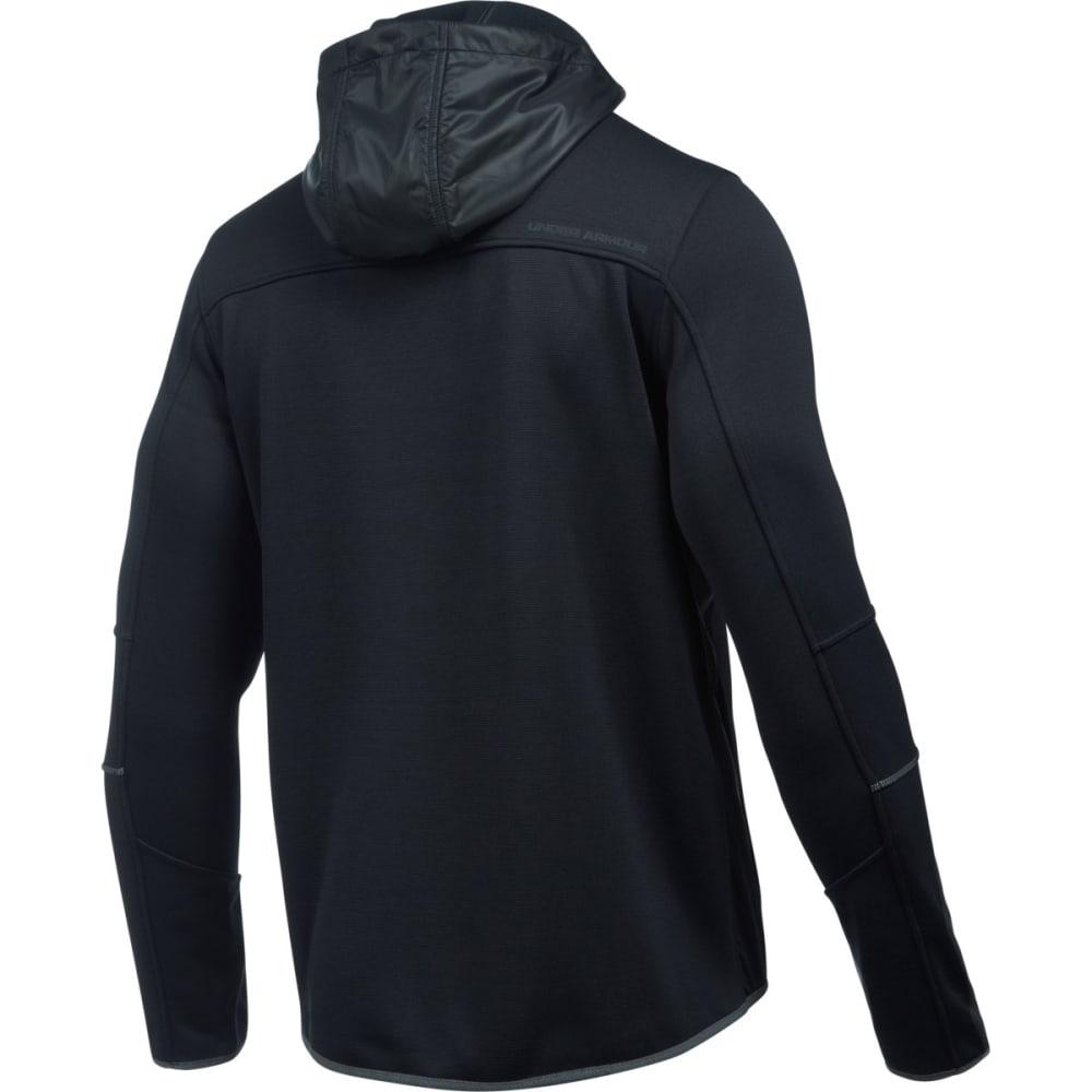 UNDER ARMOUR Men's UA Full-Zip Swacket - BLACK-001
