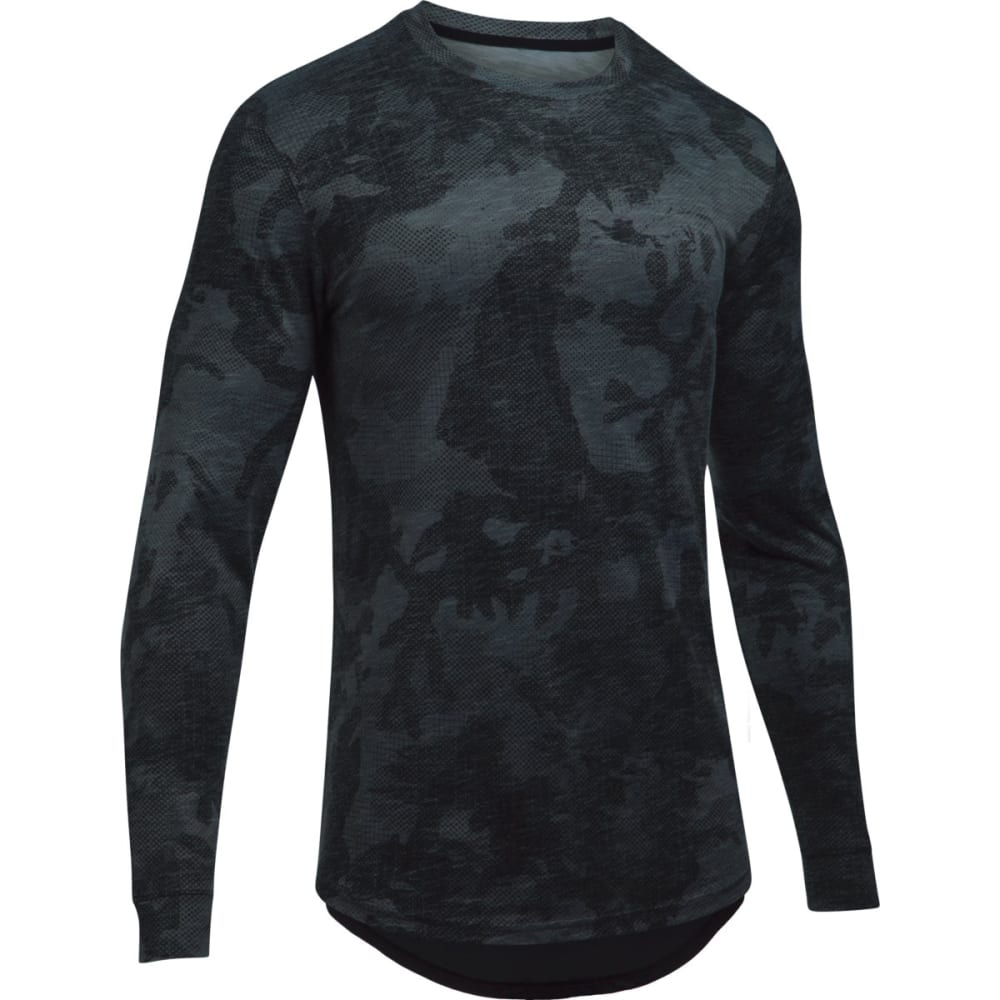 UNDER ARMOUR Men's Sportstyle Long Sleeve Shirt - ASPHALT HTR-005