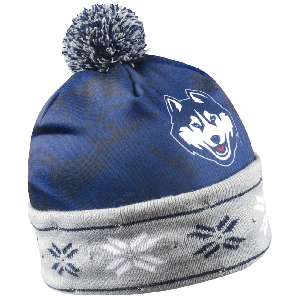 UCONN Big Logo Light Up Printed Beanie - UCONN