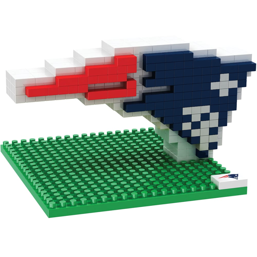 NEW ENGLAND PATRIOTS 3D BRXLZ Team Logo Puzzle - PATRTRIOTS