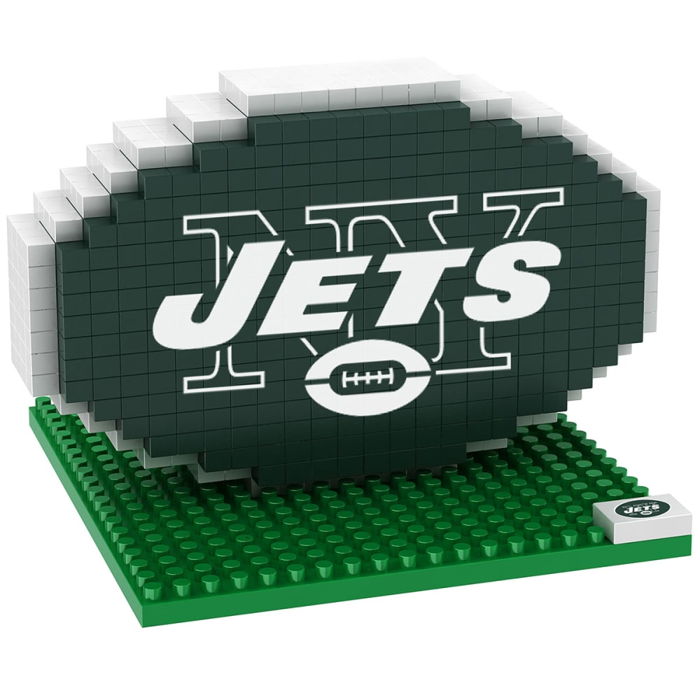 NEW YORK JETS 3D BRXLZ Team Logo Puzzle - JETS