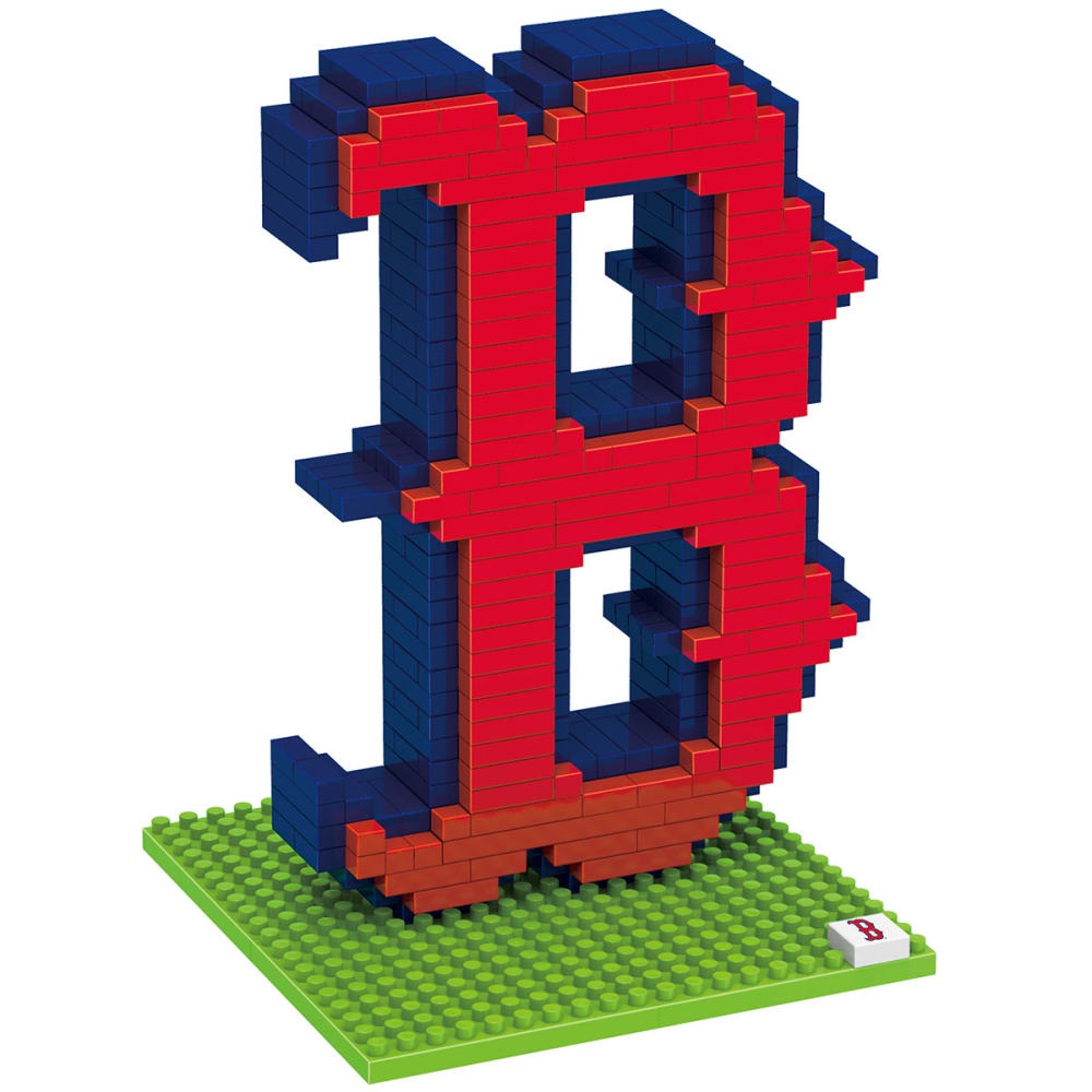 BOSTON RED SOX 3D BRXLZ Team Logo Puzzle - RED SOX