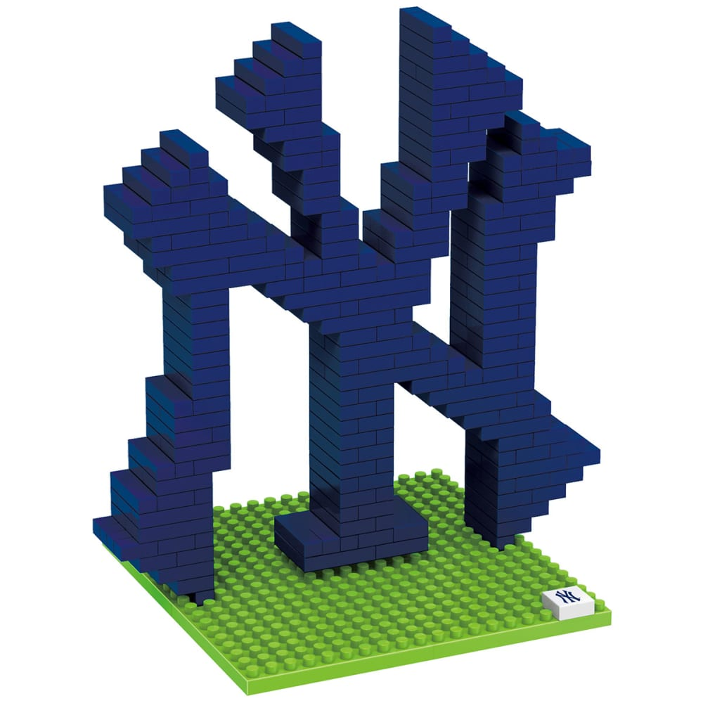 NEW YORK YANKEES 3D BRXLZ Team Logo Puzzle - YANKEES