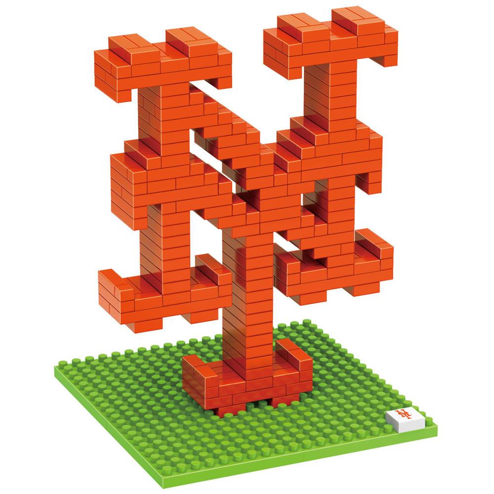 NEW YORK METS 3D BRXLZ Team Logo Puzzle - METS