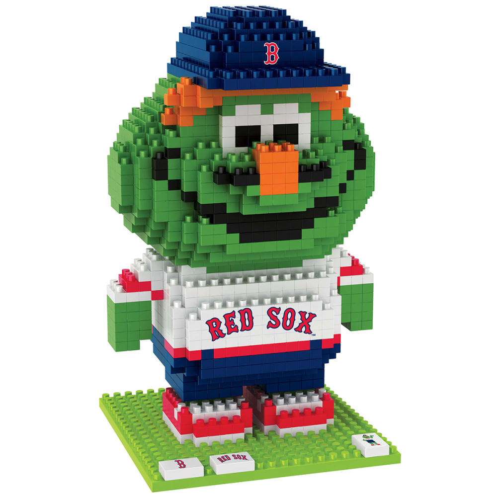 BOSTON RED SOX 3D BRXLZ Wally Mascot Puzzle - RED SOX