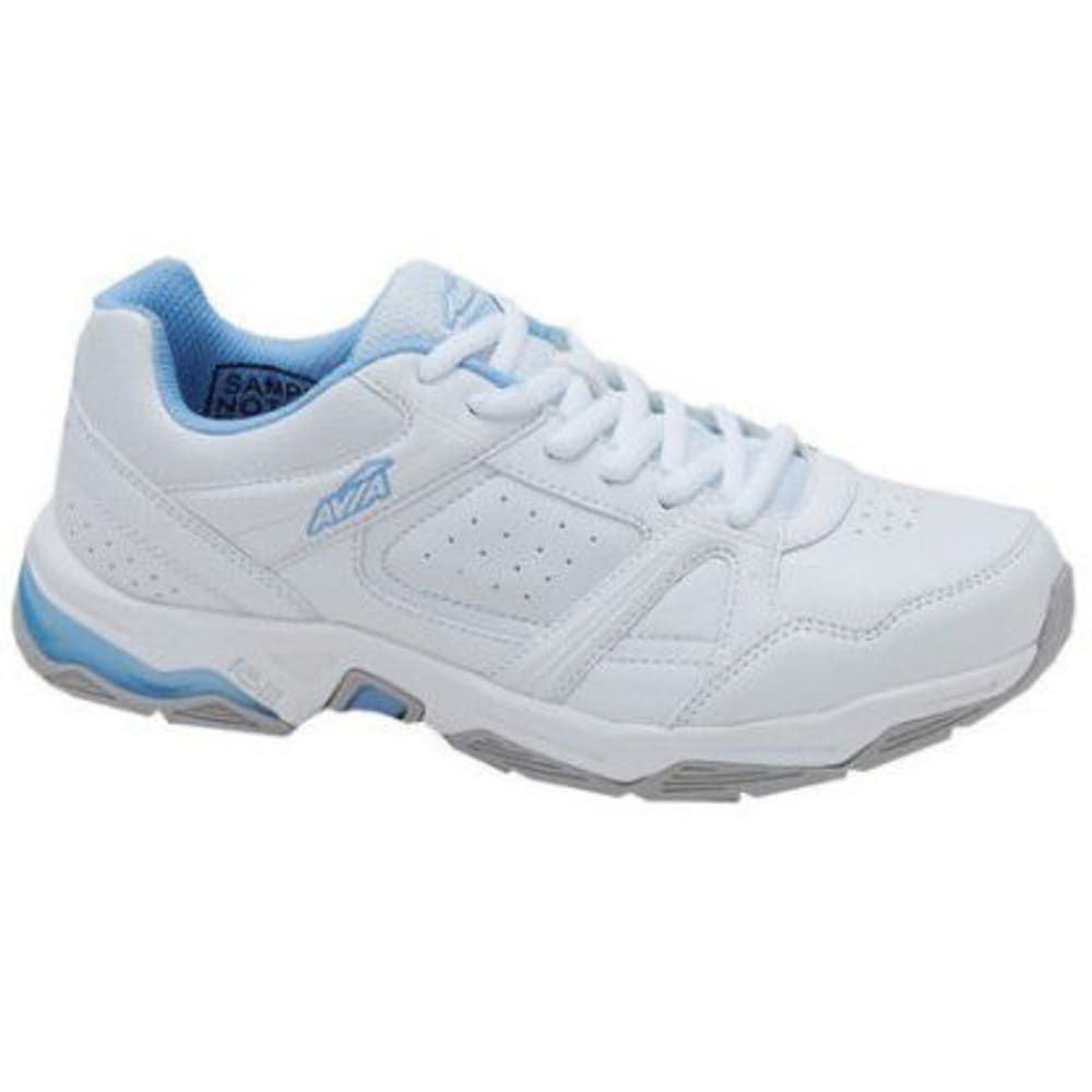AVIA Women's Avi-Rival Training Shoes, White/Powder Blue - WHITE