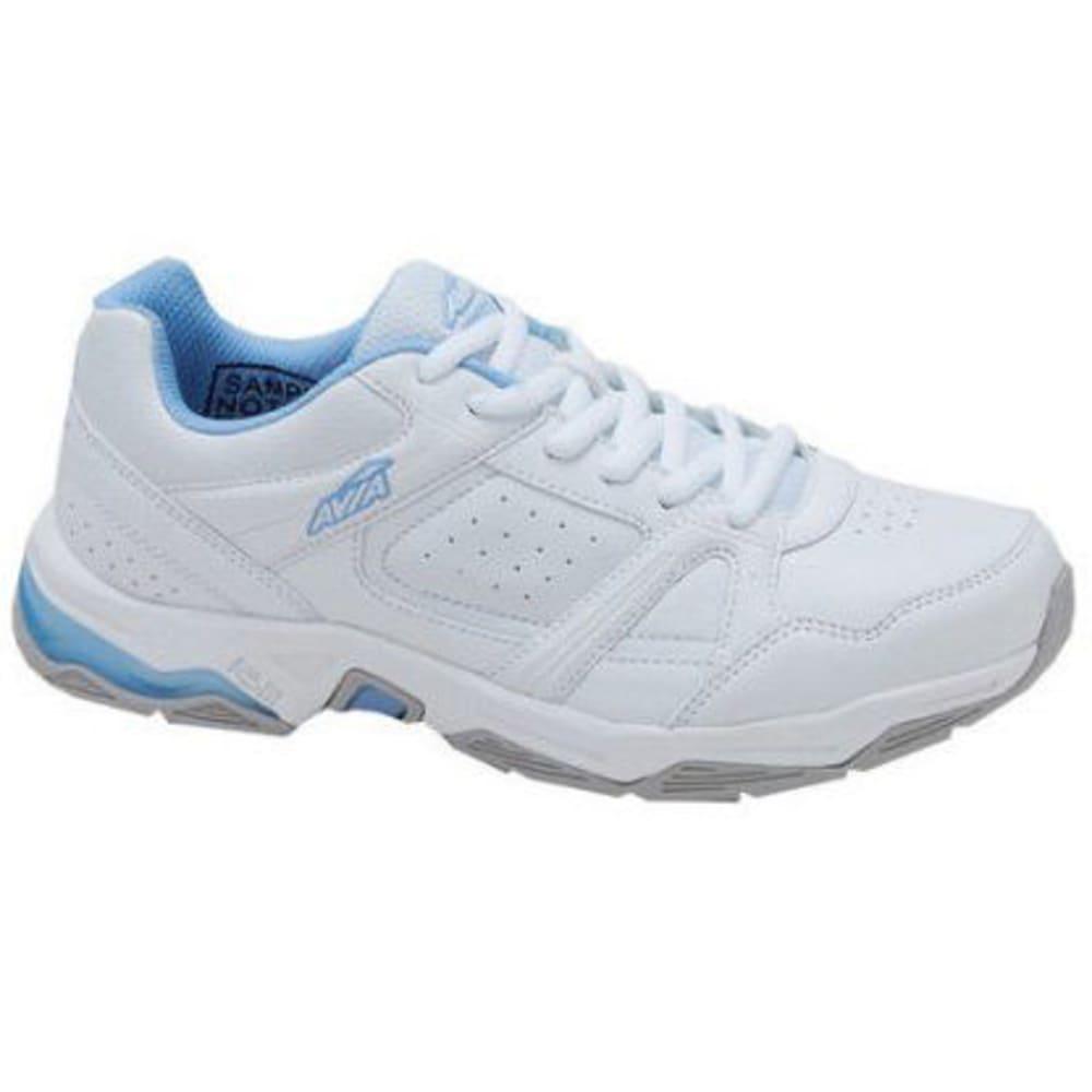 AVIA Women's Avi-Rival Training Shoes, White/Powder Blue - WHITE