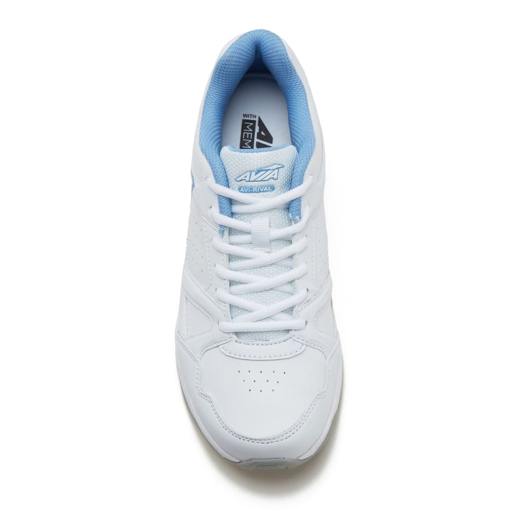 AVIA Women's Avi-Rival Training Shoes, Wide - WHITE