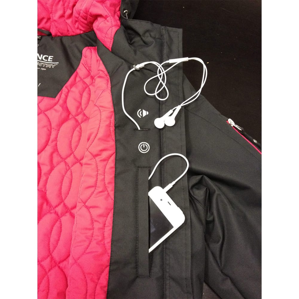 FREE COUNTRY Women's Endurance Down Jacket - BLACK
