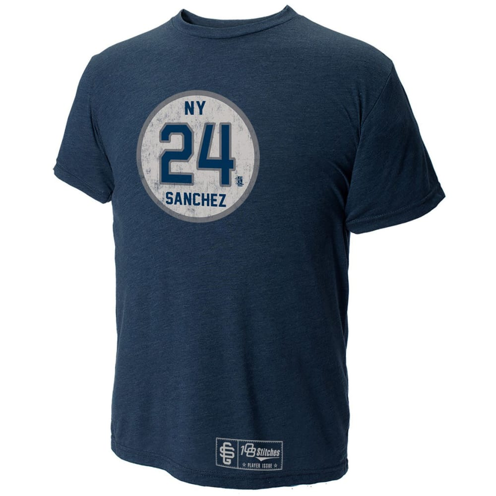 NEW YORK YANKEES Men's Sanchez Circle Tee - NAVY