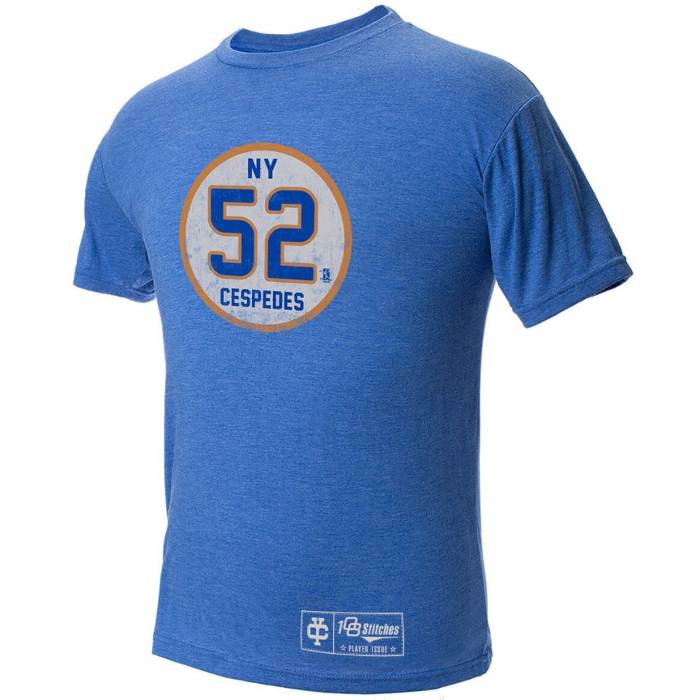 NEW YORK METS Men's Cespedes Circle Tee - ROYAL BLUE