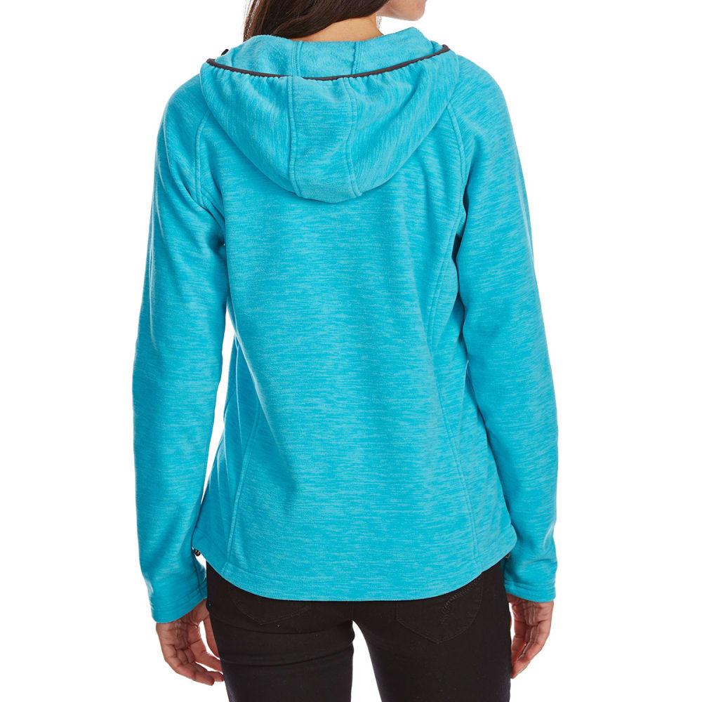 NEW BALANCE Women's Fleece Space-Dye Hoodie - SEA SPRAY-PT284