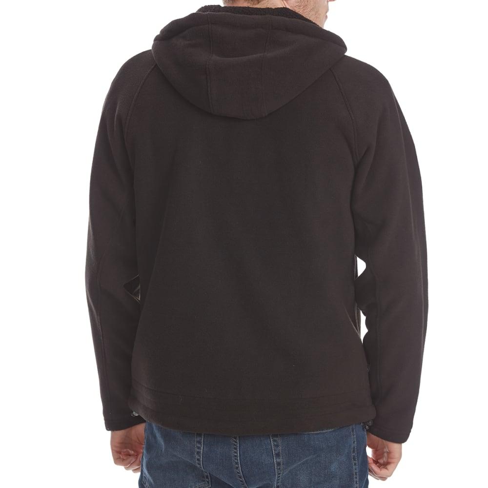 NEW BALANCE Men's Polar Fleece Full-Zip Hoodie - BLACK-BK001
