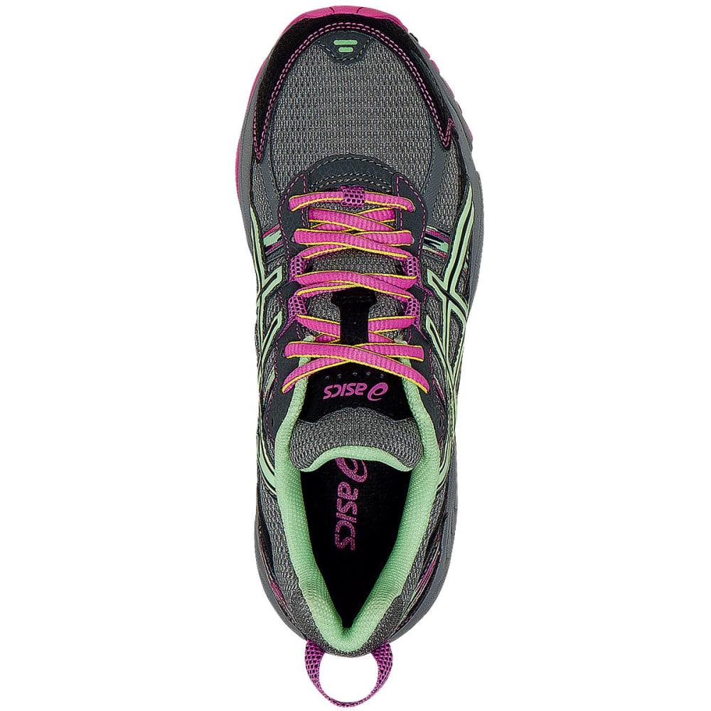 ASICS Women's GEL-Venture 5 Running Shoes, Titanium/Pistachio/Pink - GREY
