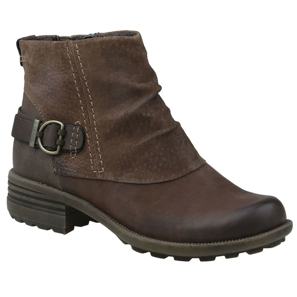 Earth Origins Women's Paige Boots, Bark - Brown, 7