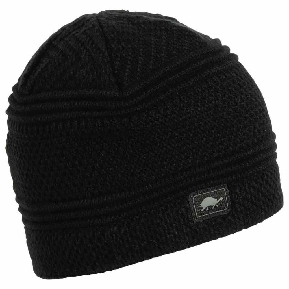 TURTLE FUR Men's Sifter Beanie - BLACK