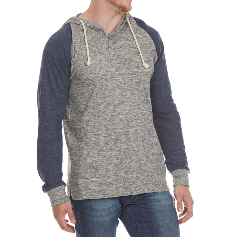 Alpha Beta Guys Raino Raglan Hoody - Black, S