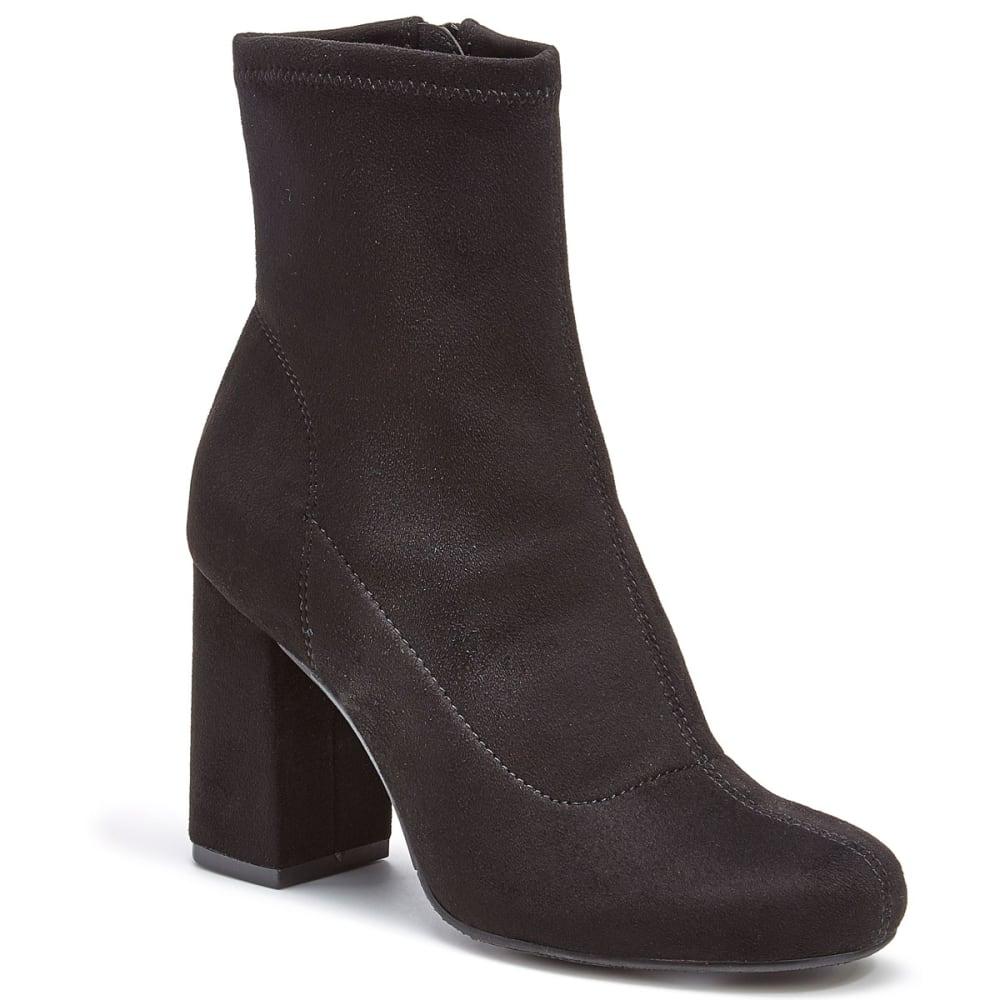 MIA Women's Valencia Stretch Ankle Boots, Black Nova - BLACK