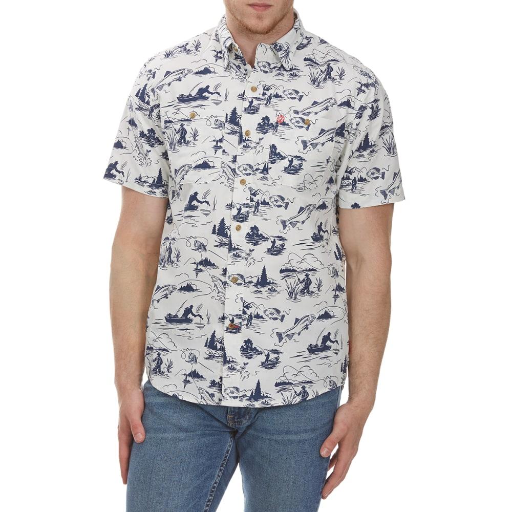 COLEMAN Men's Printed Guide Short-Sleeve Shirt - CEMENT BRC
