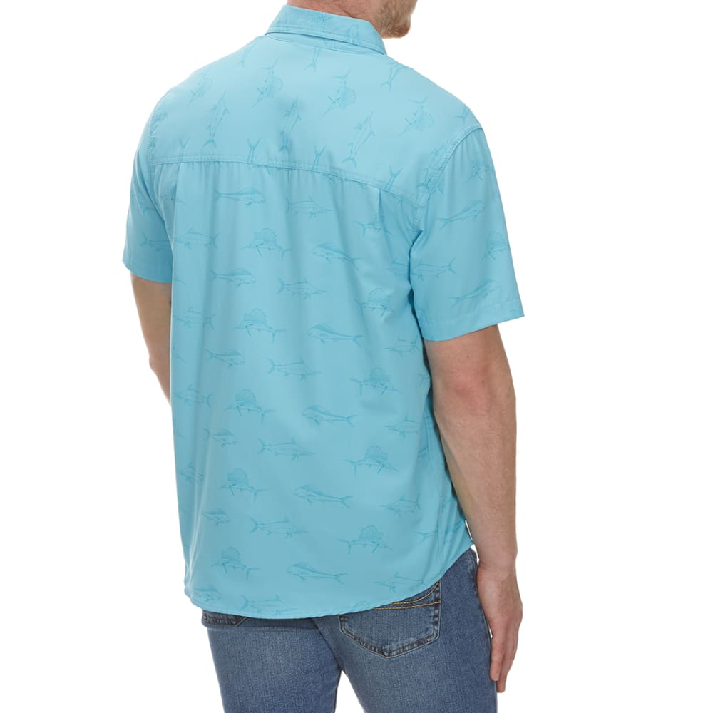 COLEMAN Men's Printed Guide Short-Sleeve Shirt - FRESH AIRE BRC