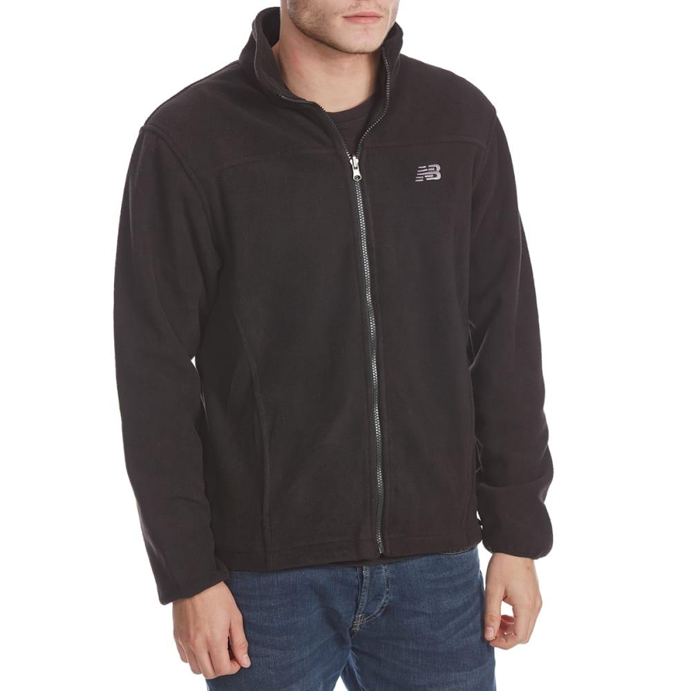 NEW BALANCE Men's Printed System Soft Shell Jacket - BLACK BARK