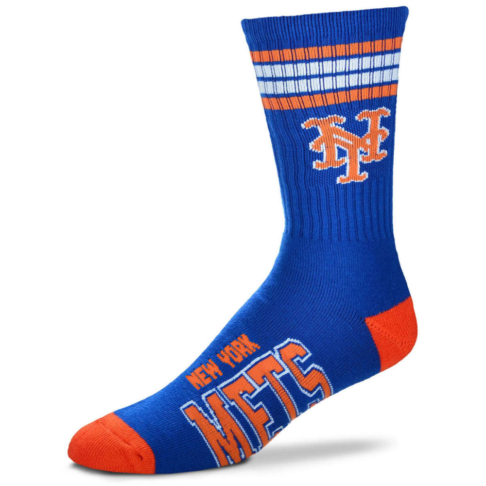 NEW YORK METS Men's Four Stripe Deuce Socks - ROYAL BLUE