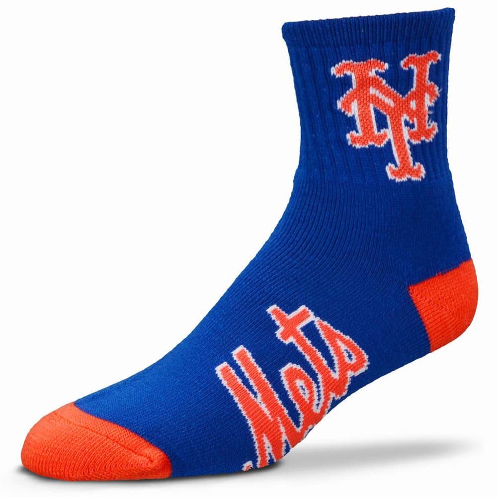 NEW YORK METS Men's Team Crew Socks - ROYAL BLUE