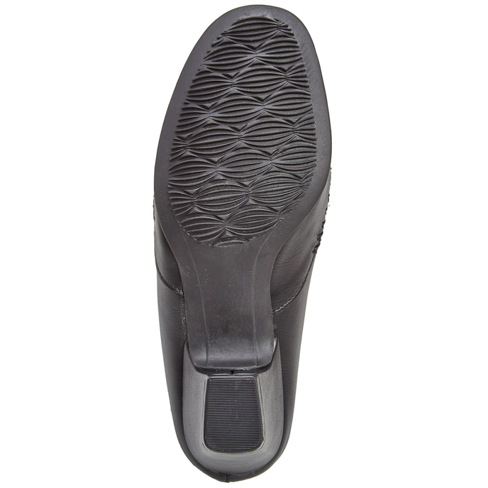 RIALTO Women's Vette Mules, Black/Exotic Print - BLACK