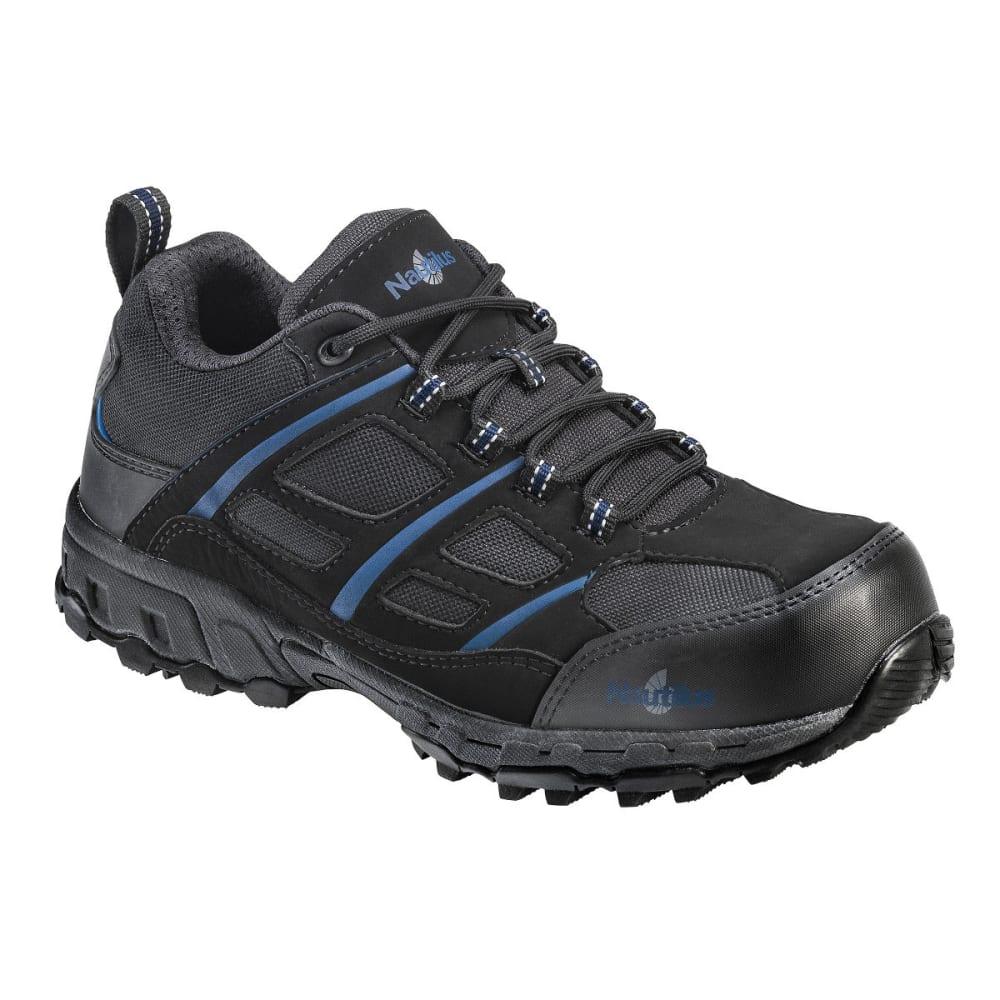 NAUTILUS Men's 1737 Comp Fiber Toe Safety Shoes, Black, Medium Width 10.5