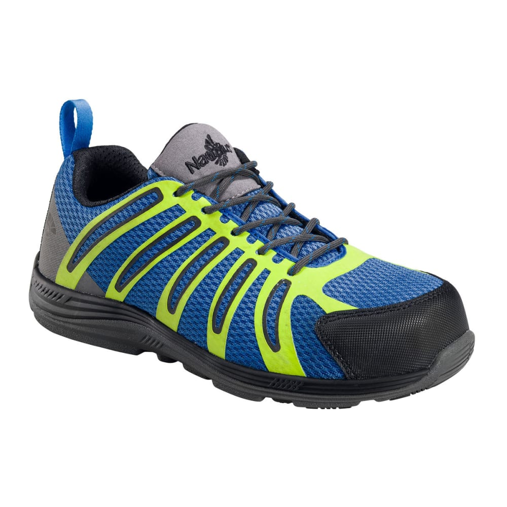 NAUTILUS Men's 1740 Carbon Comp Fiber Toe Safety Shoes, Blue, Wide - BLUE