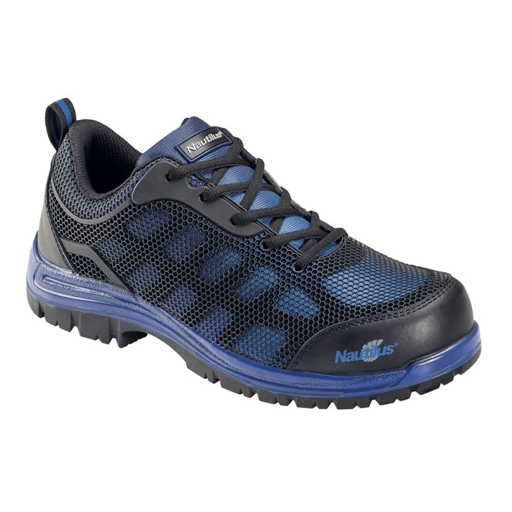 NAUTILUS Men's 1821 Comp Toe EH Athletic Shoes, Blue, Medium Width - BLUE